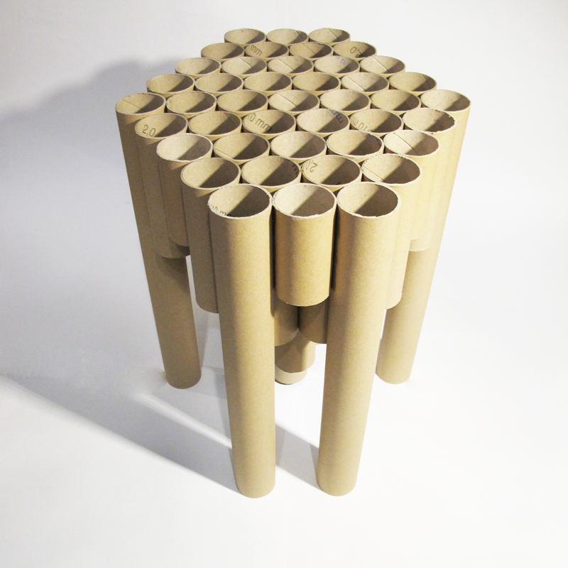 Поделки из бумажной трубы 9