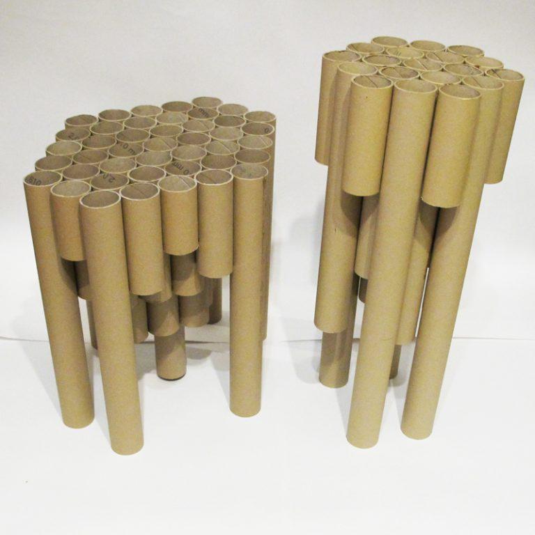 Поделки из бумажной трубы 79